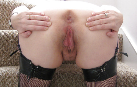 bent Phat over pussy