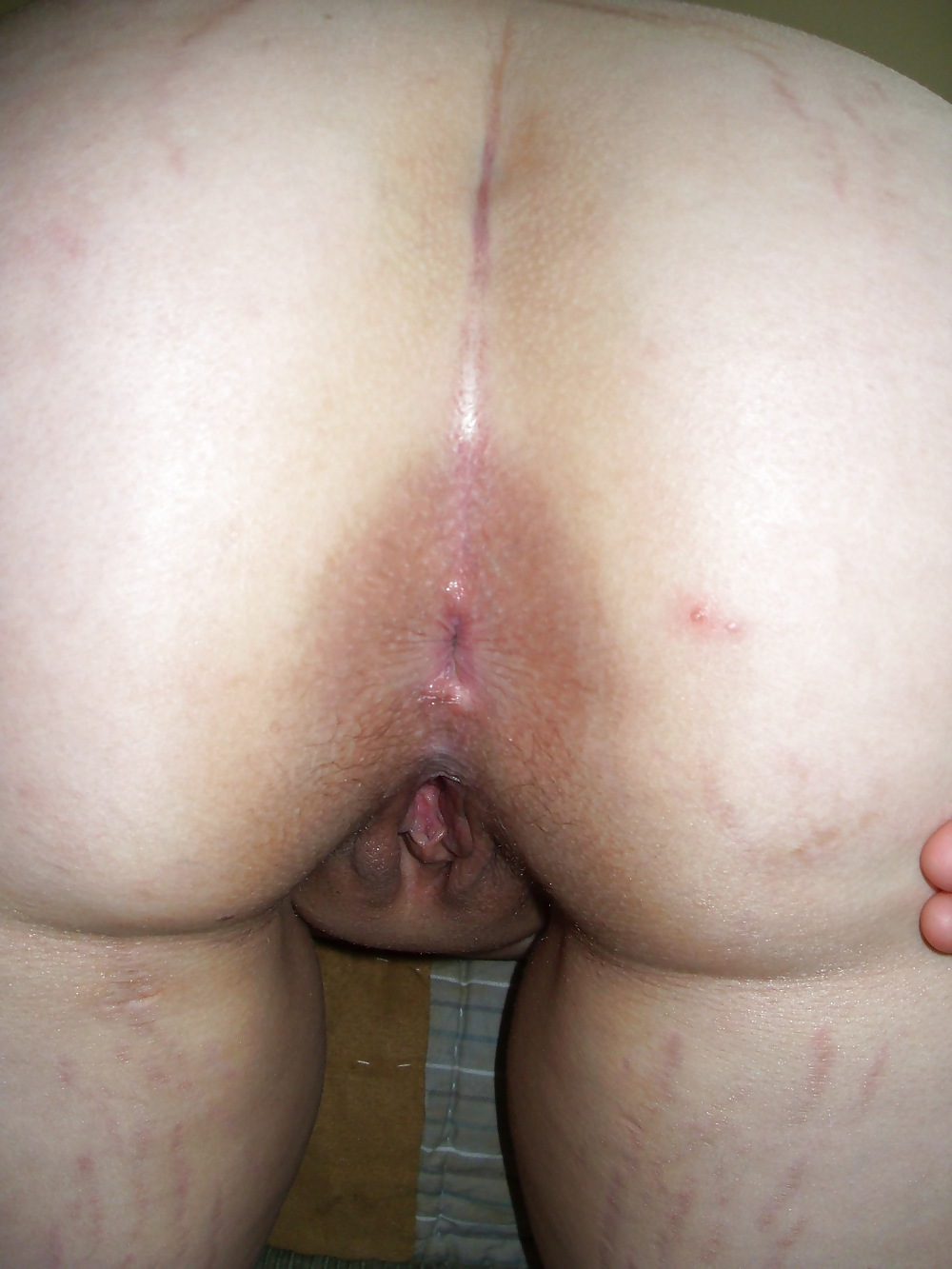 stretch with marks slut Mature
