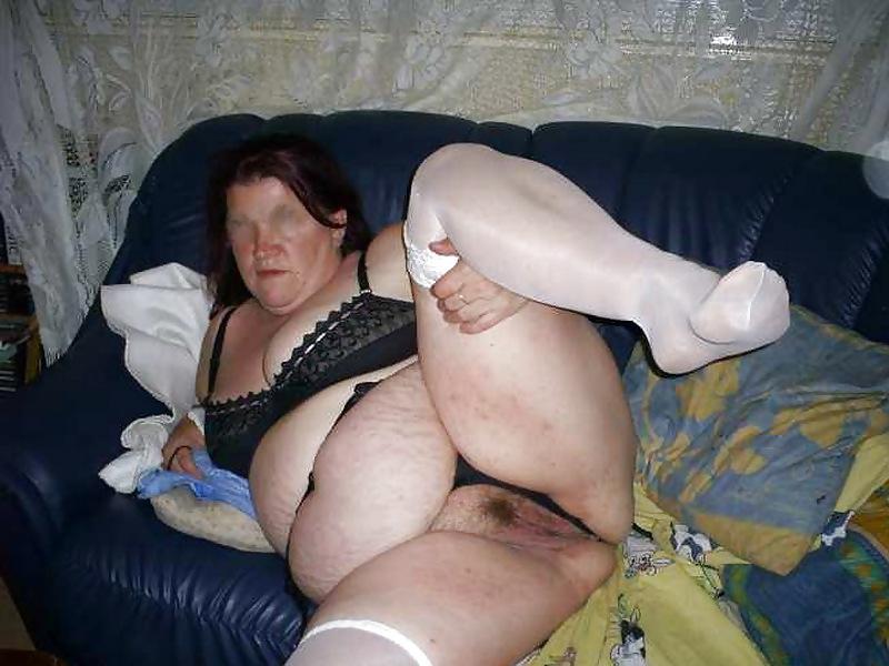 Sexy granny anal sex-5952