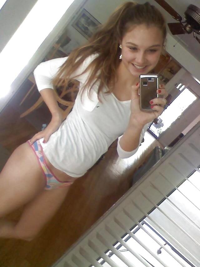 You were busty teen mirror selfie nude amusing