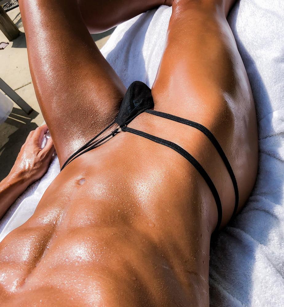 Naked gay thong