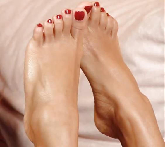 Sexy black feet porn