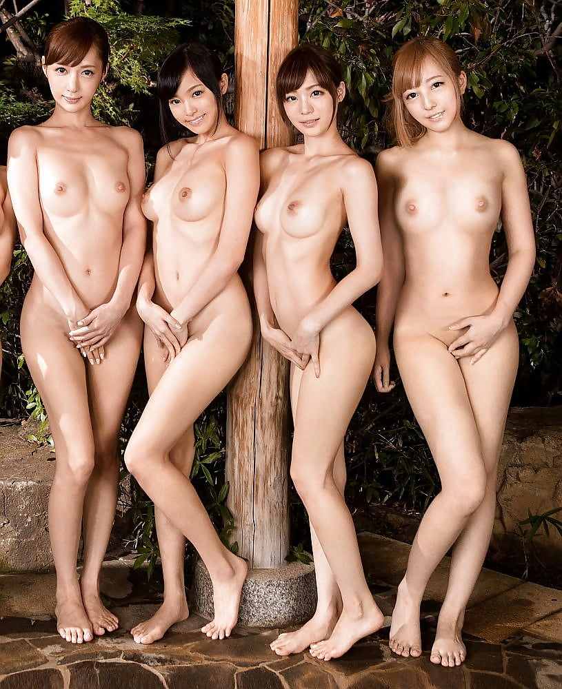 Nude japanese girl groups
