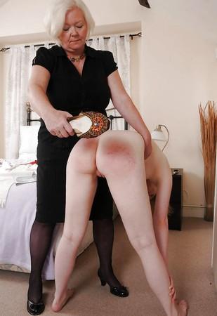 video Lesbian spank