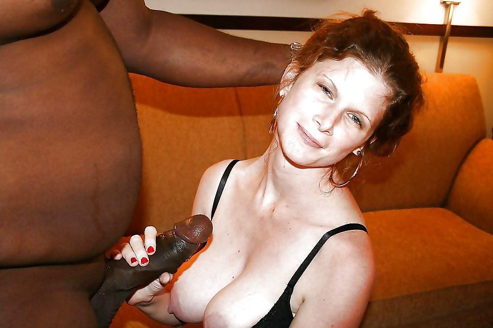 Slut wife handjob
