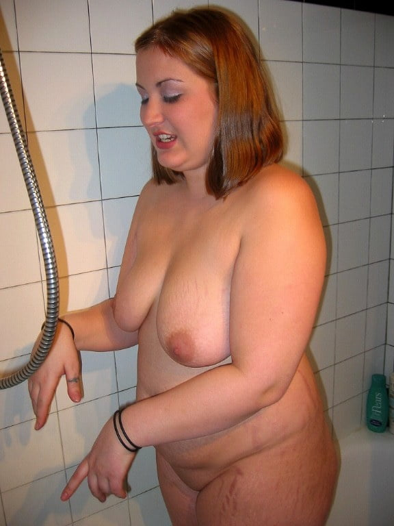 Bbw naked bathroom pics — 5
