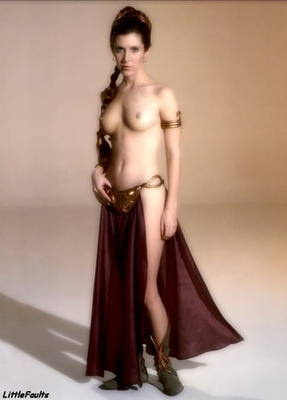 Sexy Carrie Fisher Naked Fakes Png