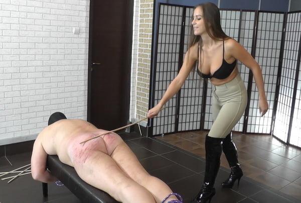 Woman punished man