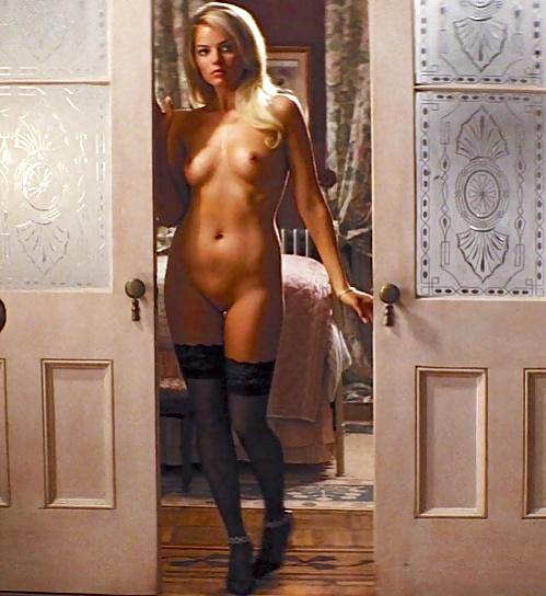 of Margot wall street robbie nude wolf