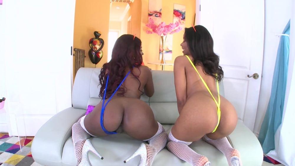 Black Beauties Jenna Foxx and Skyler Nicole Suck His Big Whi - 109 Pics