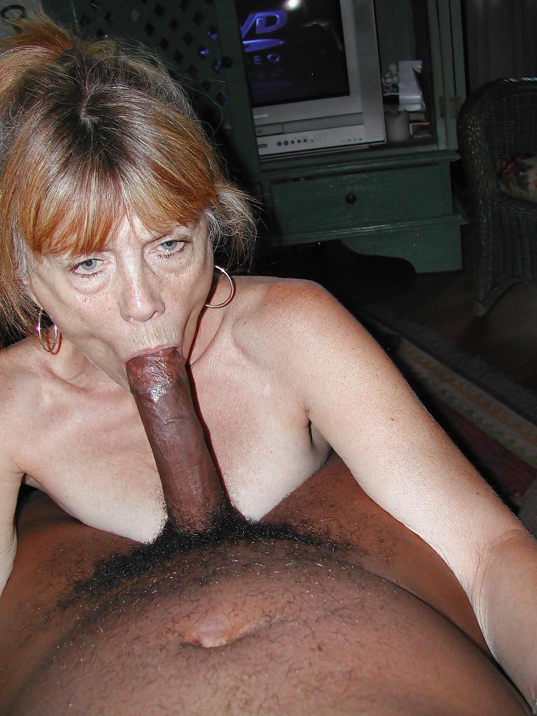 Granny Likes Big Black Cock