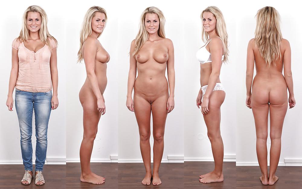 Normal woman average girl naked