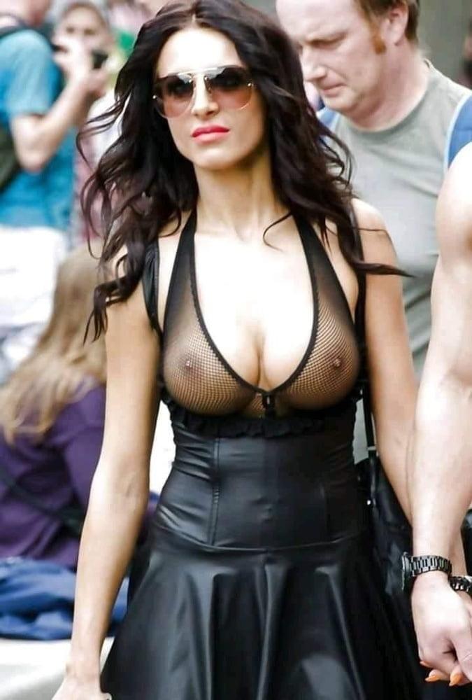 Visible nipples nude world order