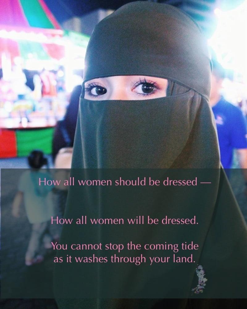 Niqab Fetish....