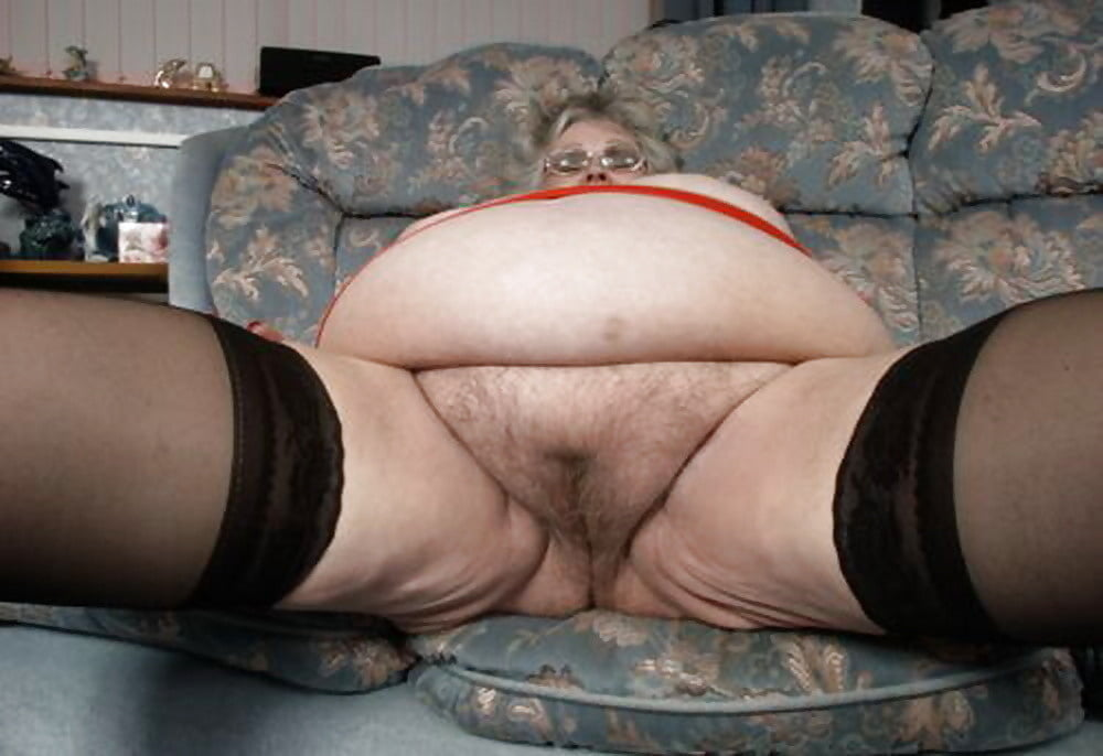 Fat hairy granny porn pics