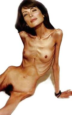 голые девушки анорексички видео для