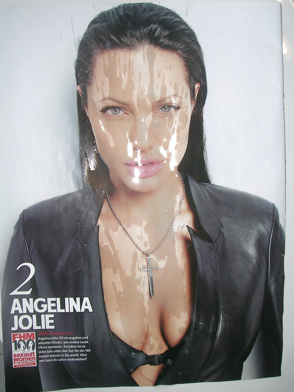 Angelina jolie fake cum diabetic cunts big