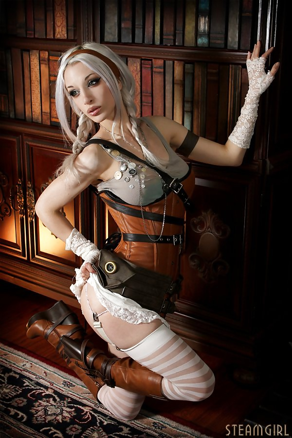 Total Cutie Strips Naked In A Steampunk Universe