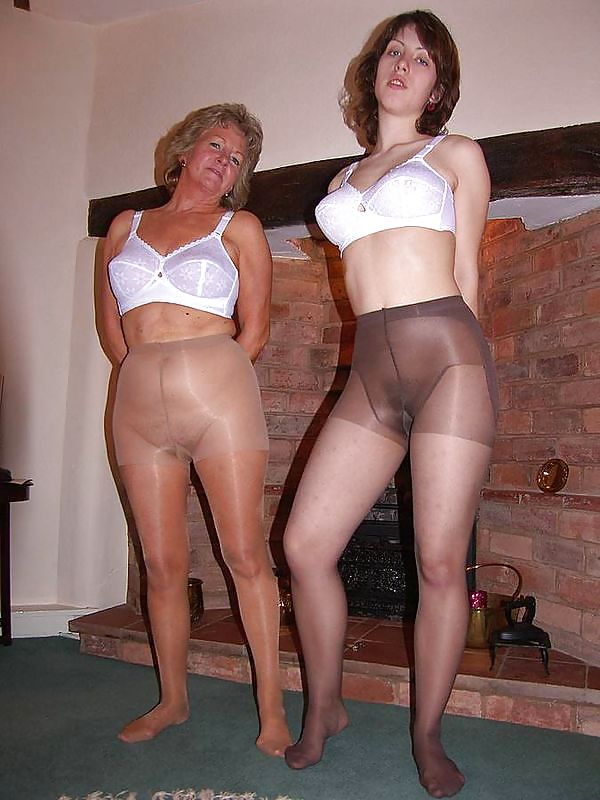 Matures and pantyhose users