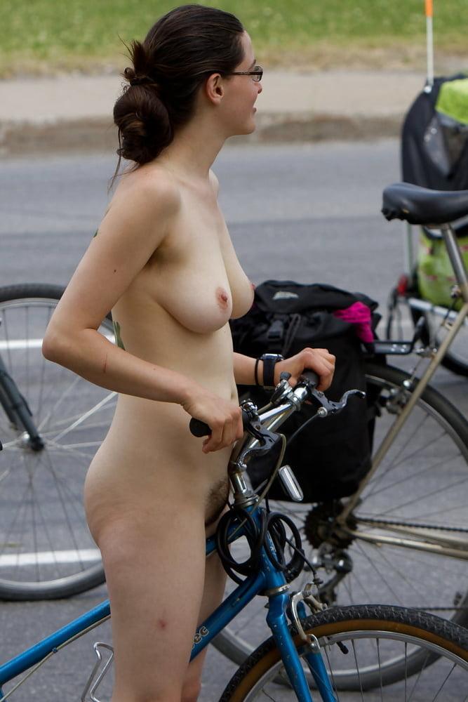 Female nude bike 2
