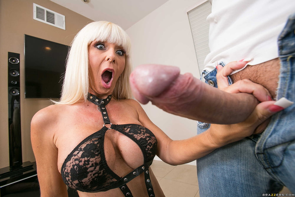 Mother shocked by see sons cock
