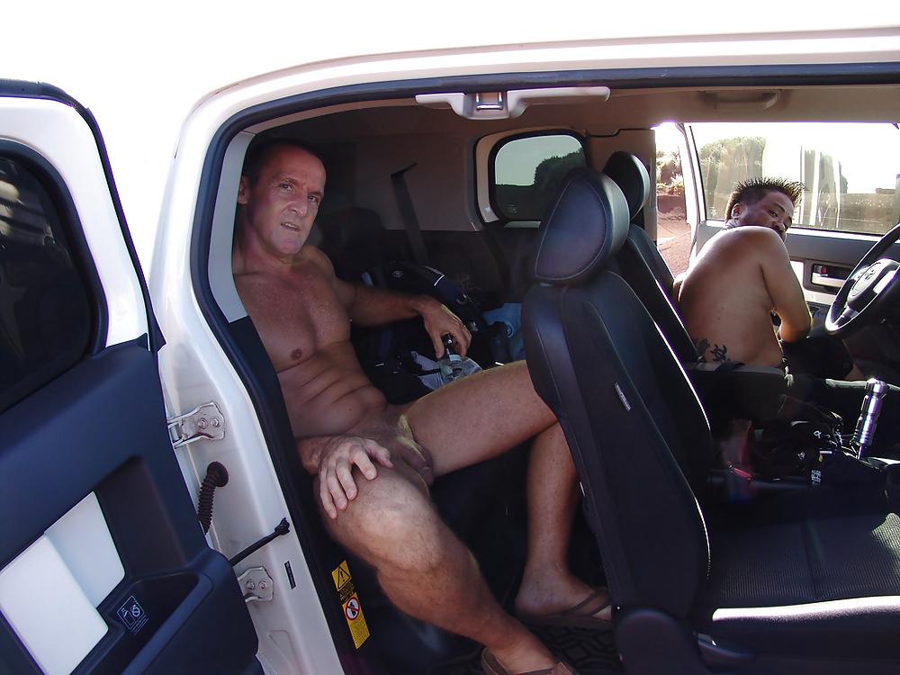 Gay naked car