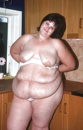 fat amateur bbw belly hang naked