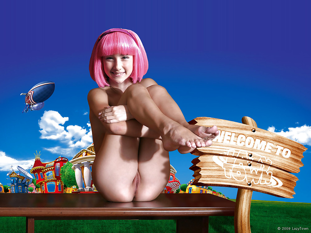 Sexy lazy town girl pitchers, lauren holly nude porno fakes