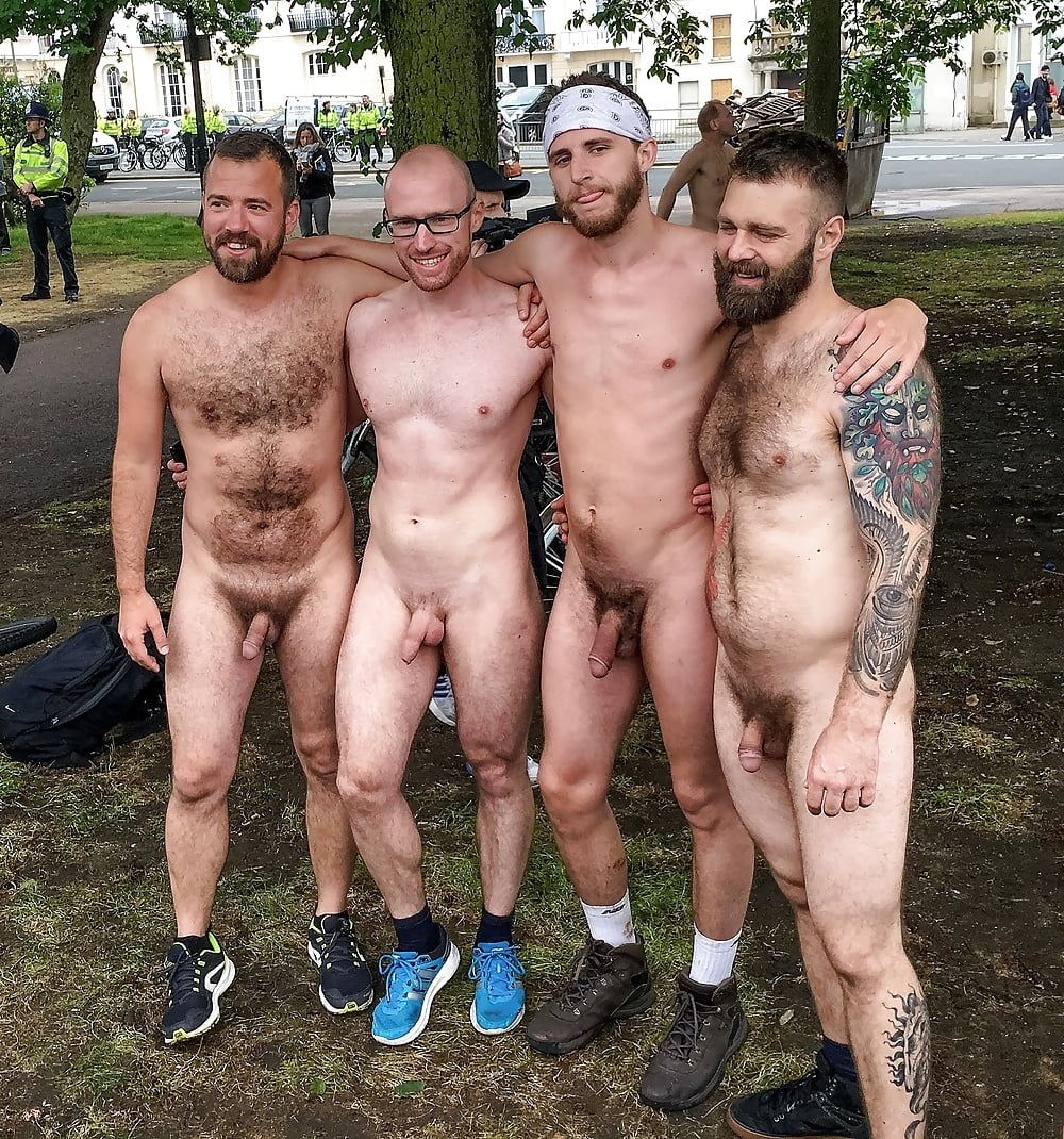 Nude amateur guy group — 4