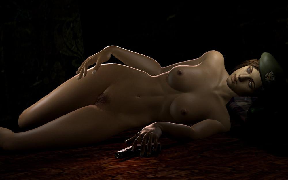 Nude naked mod of jill valentine