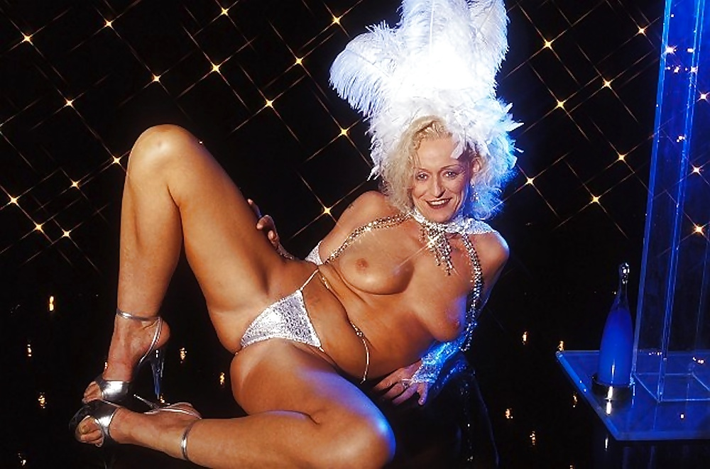 Mature Strippers Porn Photo
