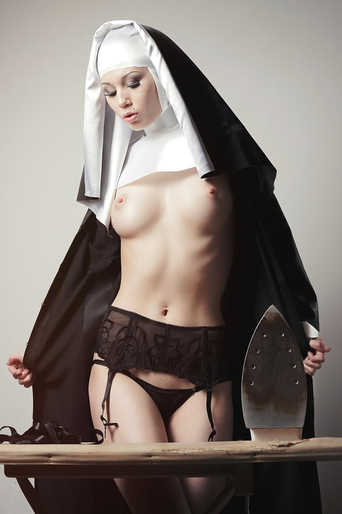 Nun getting tempted and having a wonderful sex with worker
