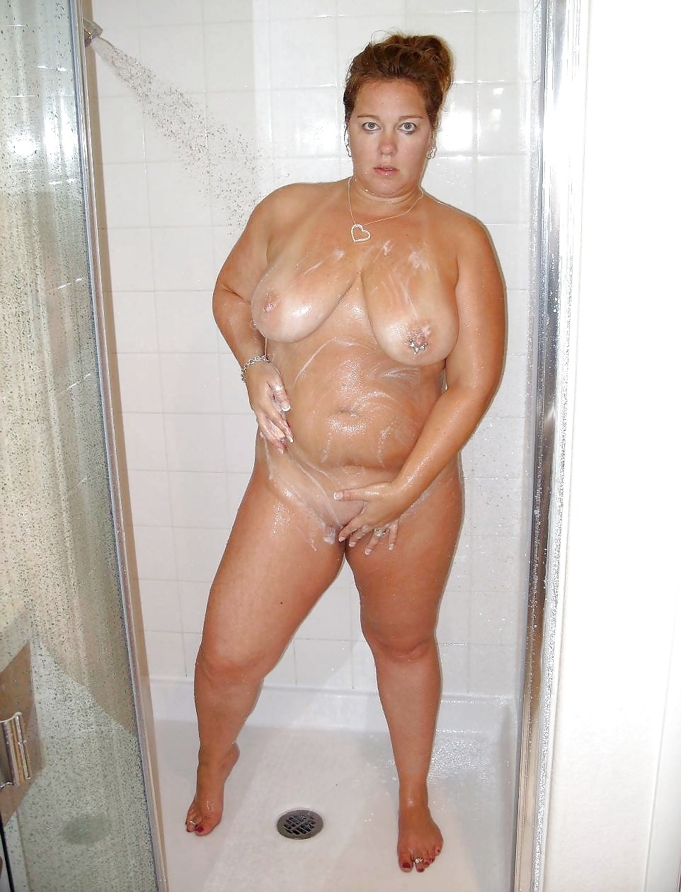 Old women shower pics