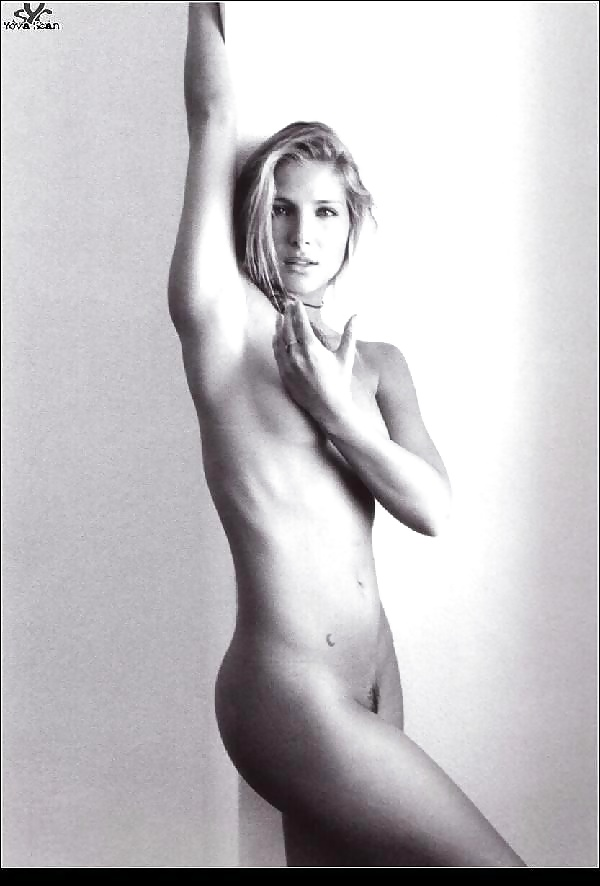 Celebrities posing naked