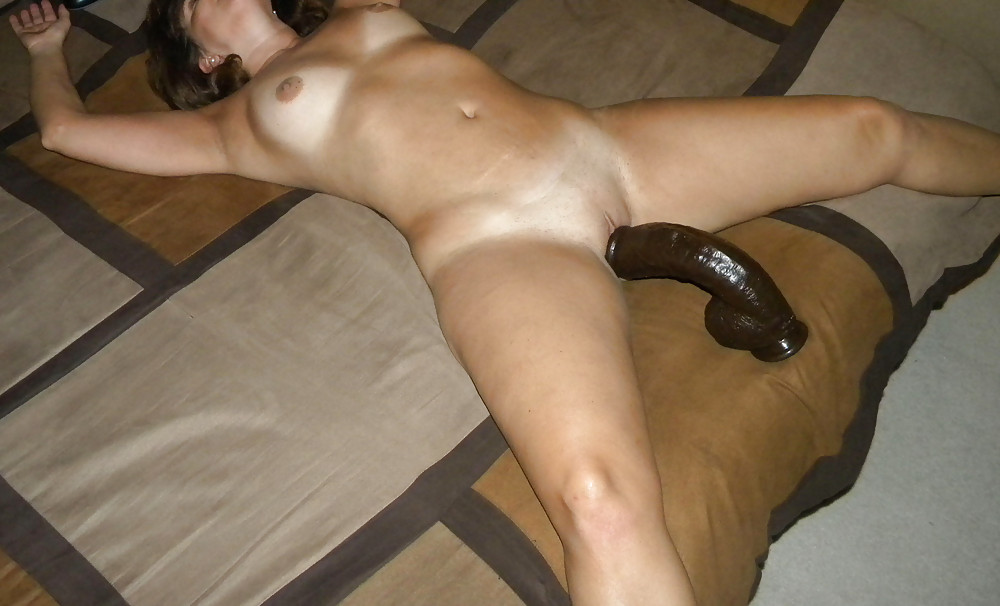 Mexican wife fucking big dildo — photo 4