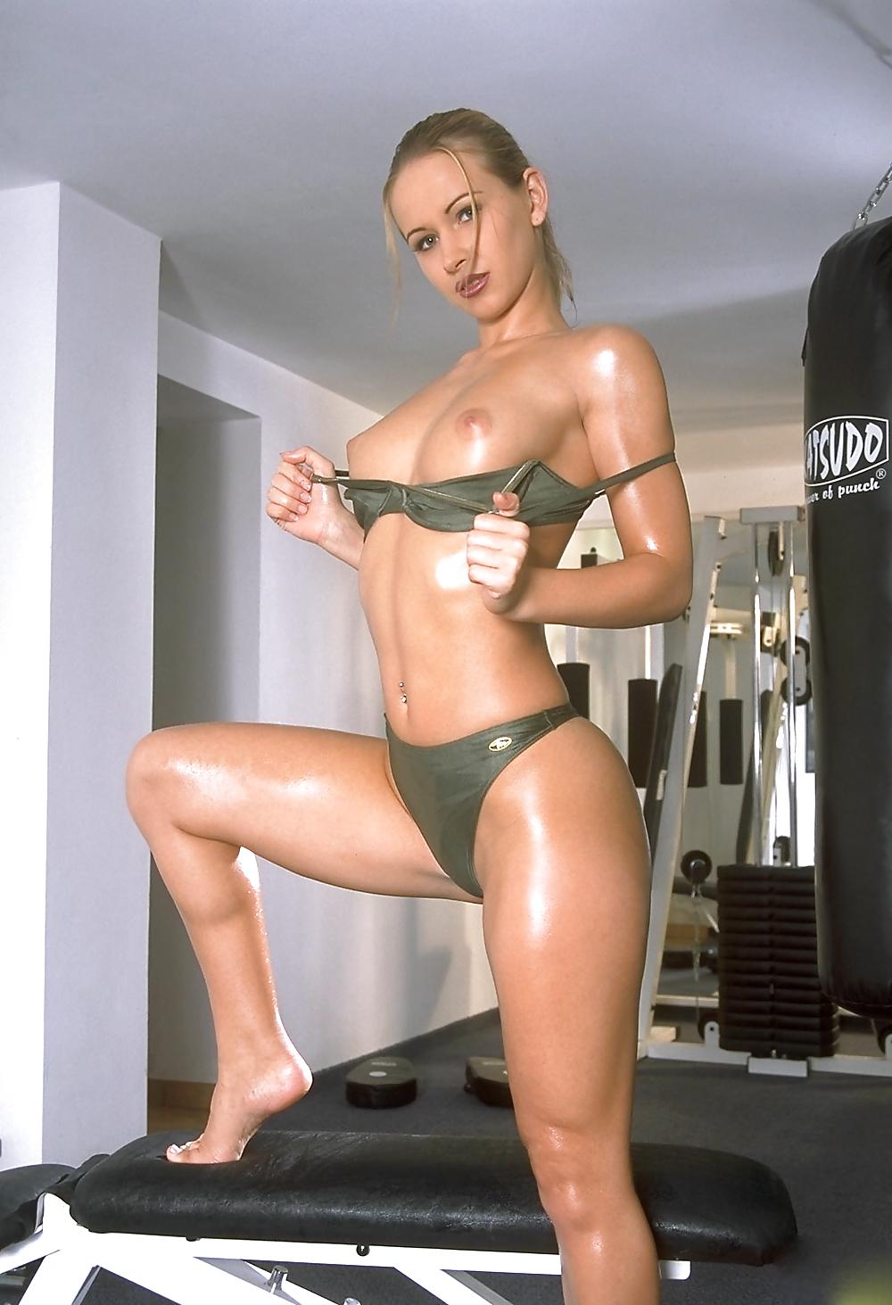 Beautiful sexy bare breasts
