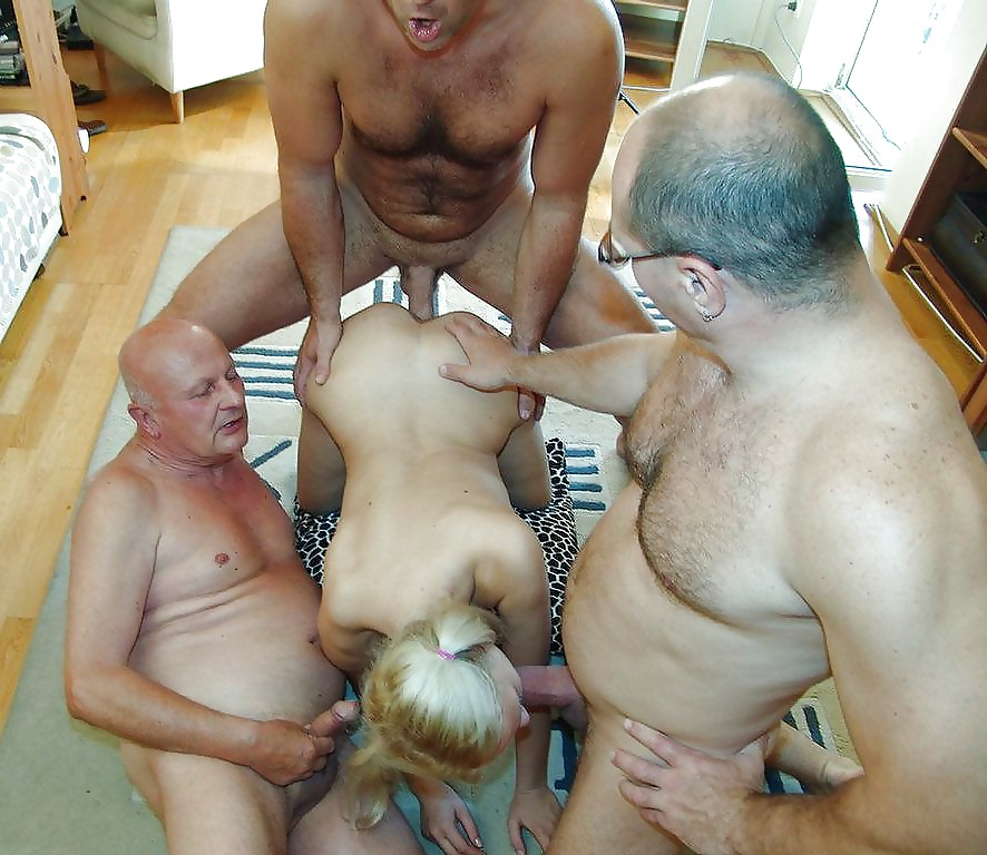 Amatuer old men fuck young — 2