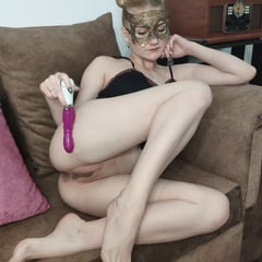 Sexy Blonde Play With Her Different Sex Toys. WOW!