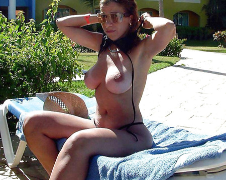 mix big tits hot beach