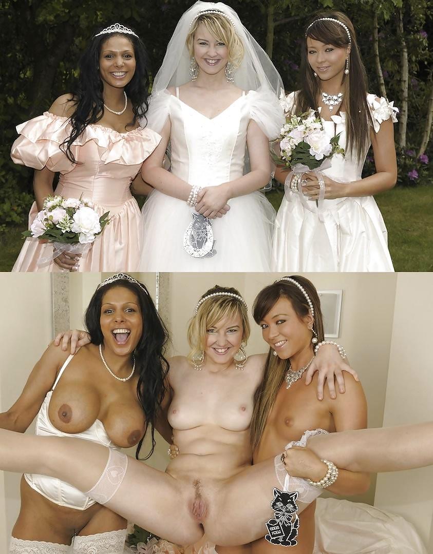 Nude brides more pics