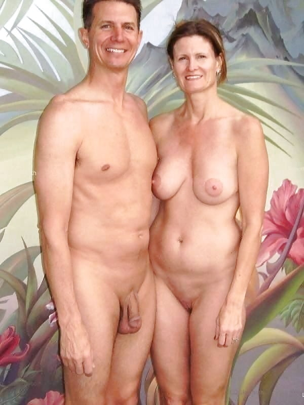 Mature couples naked together