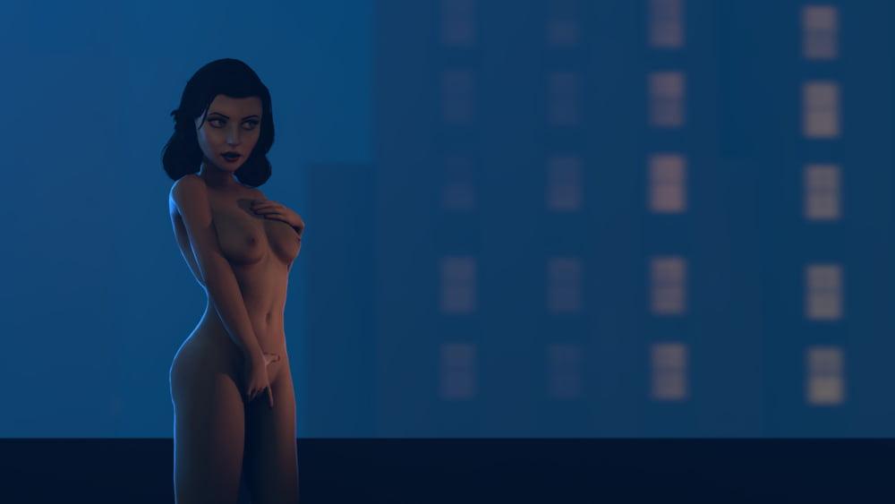 Meagan Tandy, Elizabeth Whitmere, Monica Barbaro Bikini Scene In Unreal