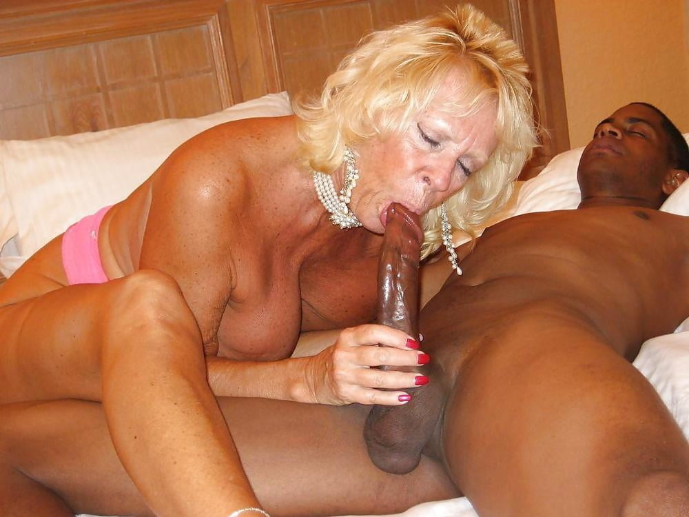 Old granny interracial porn