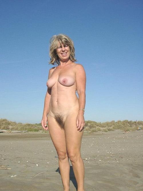 Teen naked in public