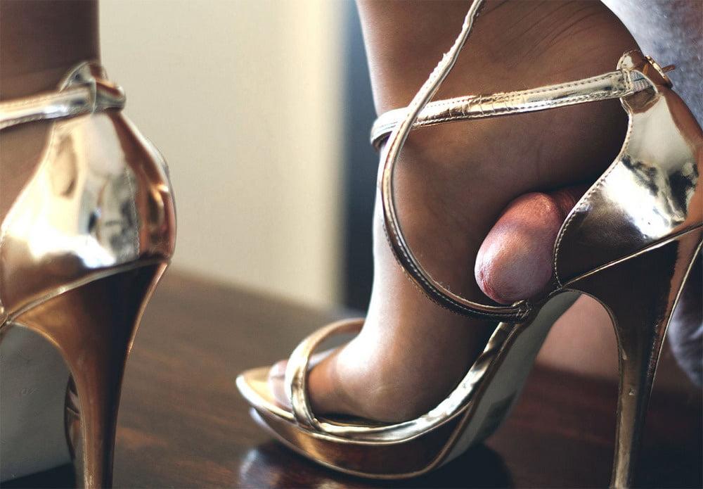 Women Sexy Shoes Black Platform Sky High Heels