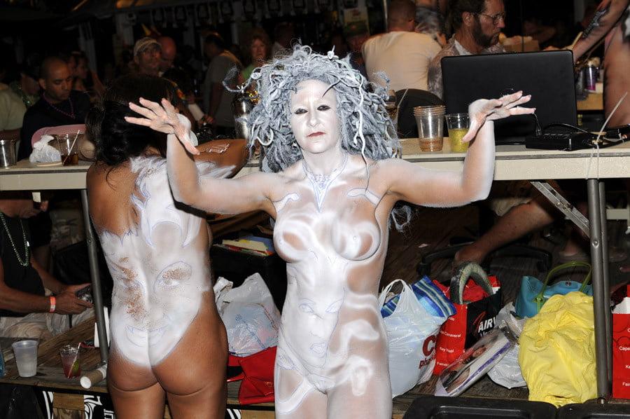 Nude fantasy festival women #9