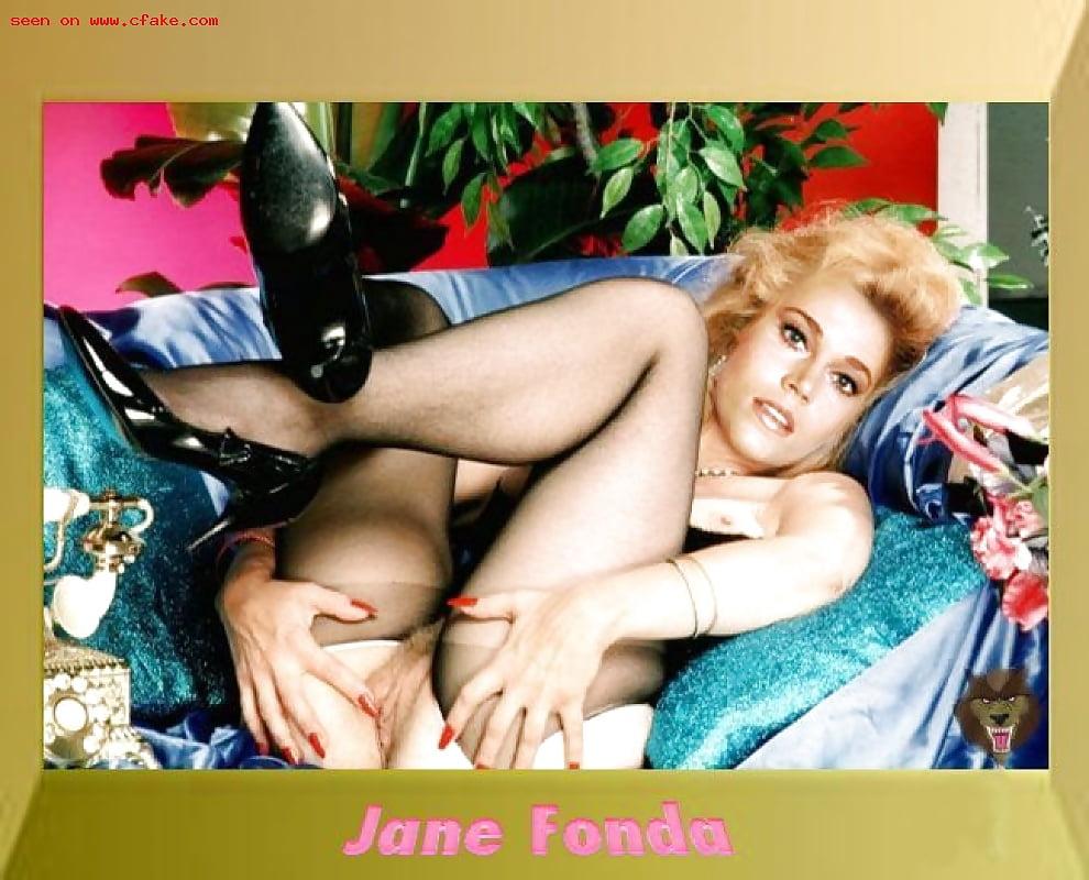 голая джейн фонда великолепная актриса джейн фонда домашнее порно - 7