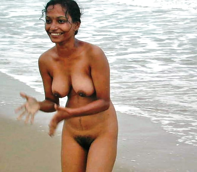 Indian family in nude beach school girls