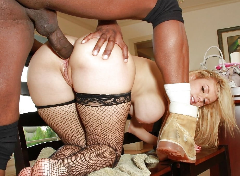 Jessie Rogers Interracial Ass Fuck