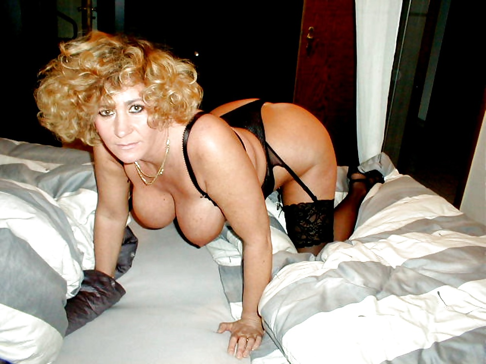 Mature blonde german